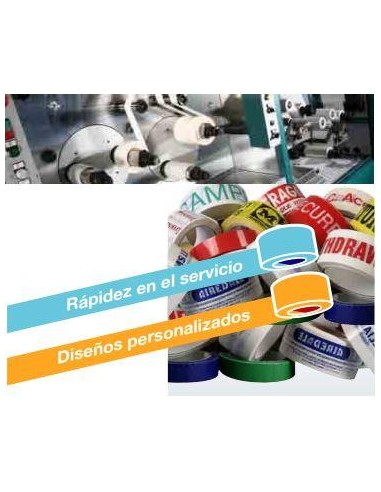 Cinta Adhesiva PVC  Impresa